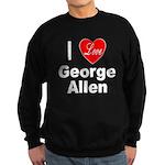 I Love George Allen Sweatshirt (dark)