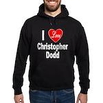 I Love Christopher Dodd Hoodie (dark)