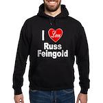 I Love Russ Feingold Hoodie (dark)