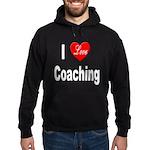 I Love Coaching Hoodie (dark)