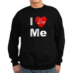 I Love Me Sweatshirt (dark)