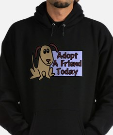 Adopt a Friend Today Doggie Hoodie