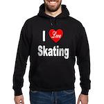 I Love Skating Hoodie (dark)