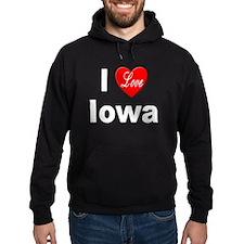 I Love Iowa Hoody
