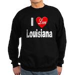 I Love Louisiana Sweatshirt (dark)