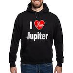 I Love Jupiter Hoodie (dark)