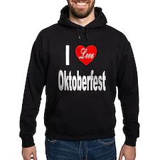 I Love Oktoberfest Hoodie