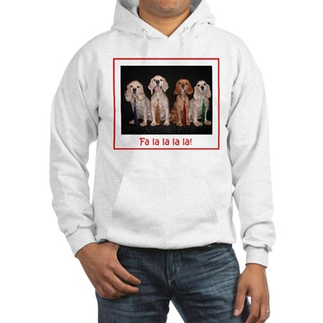 Cocker Quartet Hooded Sweatshirt