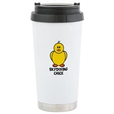 Skydiving Chick Thermos Mug