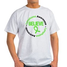 Lymphoma Believe T-Shirt