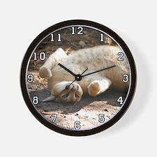 Caracal Lynx Wall Clock