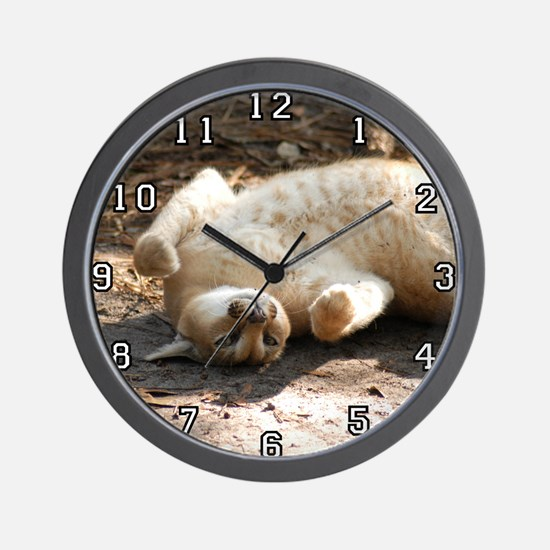 Caracal Lynx Wall Clock