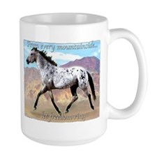 Appaloosa Freedom Ring Mug
