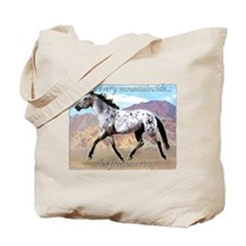 Appaloosa Freedom Ring Tote Bag