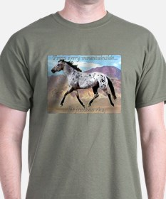 Appaloosa Freedom Ring T-Shirt