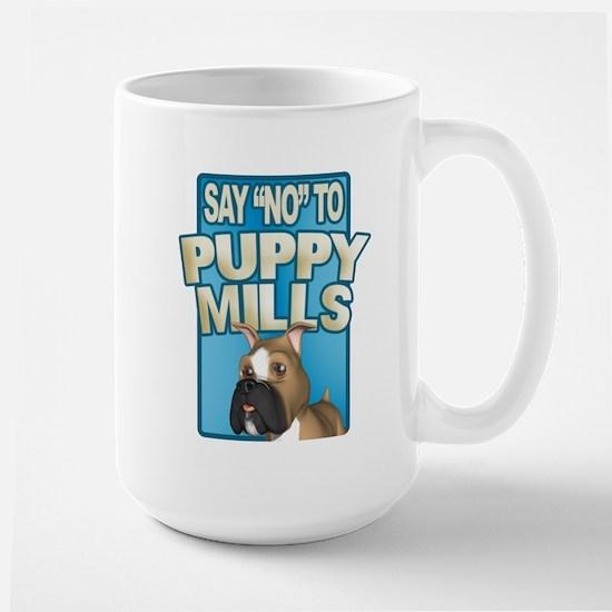 PUPPY MILLS Large Mug