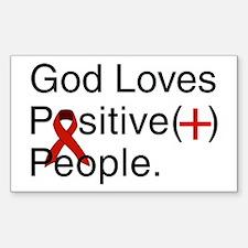 Positive Support MCC Richmond Sticker (Rectangular