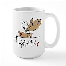 Prancer Large Lefty Mug