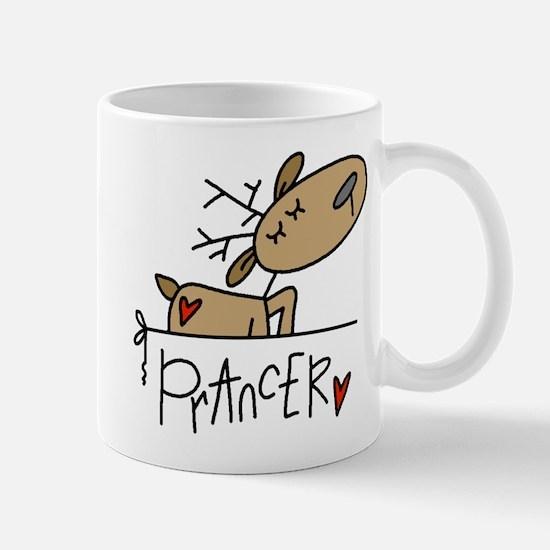Prancer Lefty Mug
