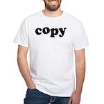 Copy White T-Shirt