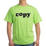 Copy Green T-Shirt