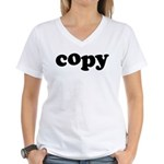 Copy Women's V-Neck T-Shirt