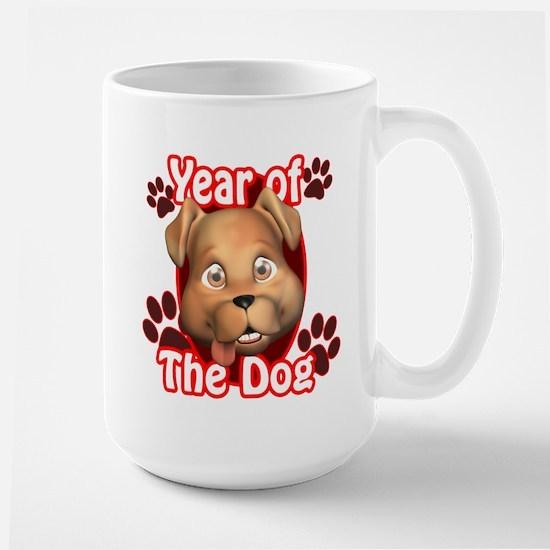 YEAR OF THE DOG Large Mug