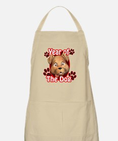YEAR OF THE DOG BBQ Apron