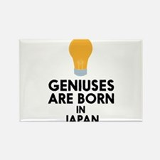 Geniuses are born in JAPAN C2hcg Magnets