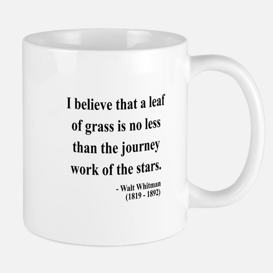 Walt Whitman 19 Mug