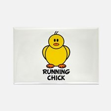 Running Chick Rectangle Magnet (10 pack)