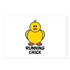 Running Chick Postcards (Package of 8)