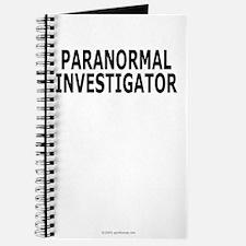 Paranormal Investigator Pro Journal