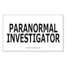 Paranormal Investigator Pro Rectangle Decal