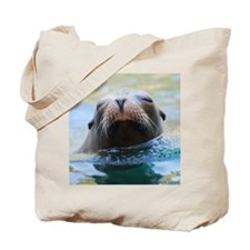 Sea Lion Tote Bag