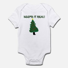 Keepin it Real! - Merry Chris Infant Bodysuit