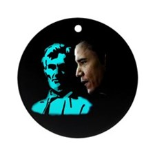 He Would Be Proud Ornament (Round)