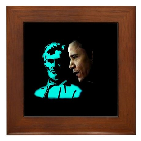 He Would Be Proud Framed Tile