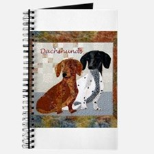 Quilted Dachshunds Journal