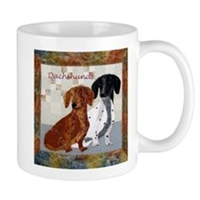 Quilted Dachshunds Mug