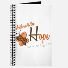 Hold On To Hope 1 Butterfly 2 ORANGE Journal