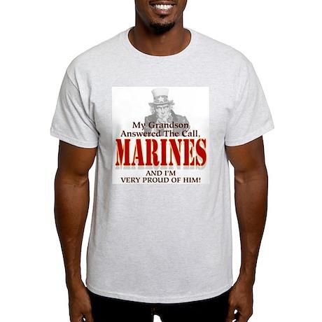 Marine Grandson Ash Grey T-Shirt