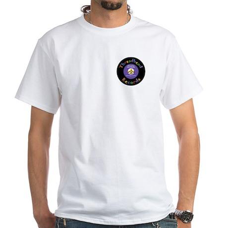 Threadhead Records White T-Shirt