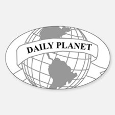 Daily Planet Oval Decal