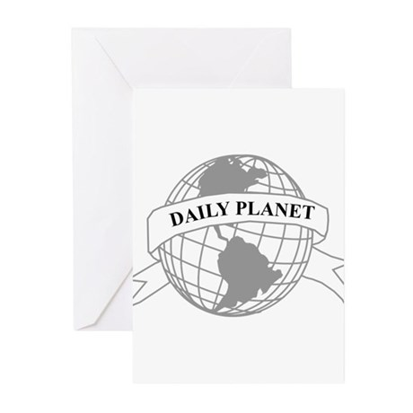 Daily Planet Greeting Cards (Pk of 20)