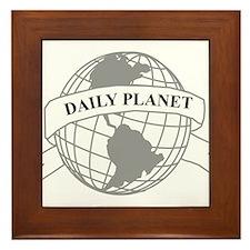 Daily Planet Framed Tile