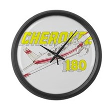 PIPER CHEROKEE 180 Large Wall Clock