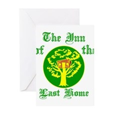 Inn Of The Last Home Greeting Card