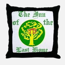 Inn Of The Last Home Throw Pillow