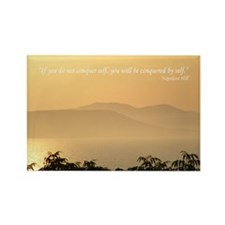 Quote Napoleon Hill Rectangle Magnet